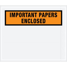 Special Use Orange  inchImportant Papers Enclosed inch Envelopes 10 inch x 12 inch (1000 Pack)
