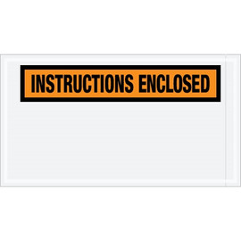Special Use Orange  inchInstructions Enclosed inch Envelopes 5 1/2 inch x 10 inch (1000 Pack)