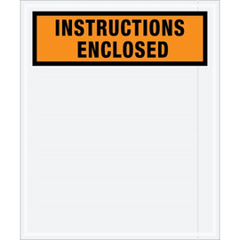 Special Use Orange  inchInstructions Enclosed inch Envelopes 12 inch x 10 inch (1000 Pack)