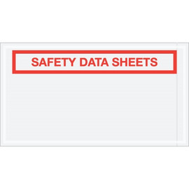 inchSafety Data Sheets inch SDS Envelopes 5 1/2 inch x 10 inch (1000 Pack)