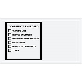inchDocuments Enclosed inch Transportation Envelopes 5 1/2 inch x 10 inch (1000 Pack)-1