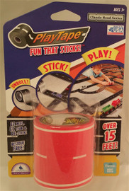 PlayTape Classic Road Red 2 inch x 15 ft Roll
