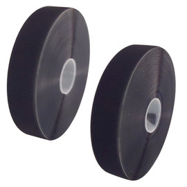 Black Hook and Loop Combo adhesive back 2 inch x 25 yard Rolls