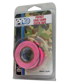 Pro Pocket Cool Camo 1 inch x 6 yard Roll Fluorescent Pink