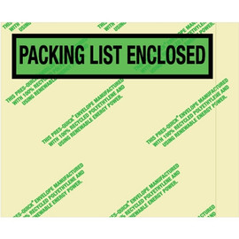 Environmental  inchPacking List Enclosed inch Envelopes 4 1/2 inch x 5 1/2 inch (1000 Pack)