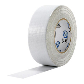 White Utility Grade Duct Tape 2 inch x 60 yard Roll (7 mil)