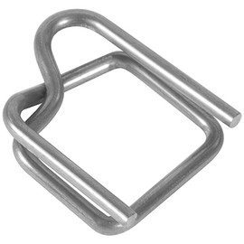 Wire Poly Strapping Buckles 1/2 inch (1000 Per/Pack)
