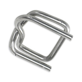 Heavy-Duty Wire Poly Strapping Buckles 1/2 inch (1000 Per/Pack)