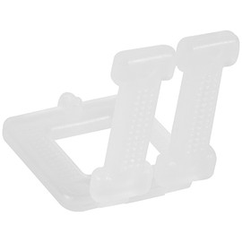 Plastic Poly Strapping Buckles 1/2 inch (1000 Per/Pack)