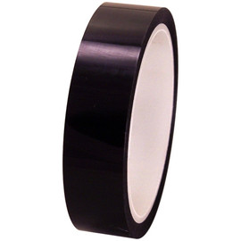 Pro-Sheen 1 inch x 36 yard Roll Black High Temp Mylar Tape