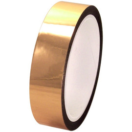 Pro-Sheen 1 inch x 36 yard Roll Gold High Temp Mylar Tape