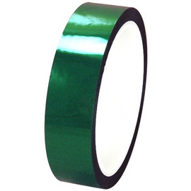 Pro-Sheen 1 inch x 36 yard Roll Green High Temp Mylar Tape