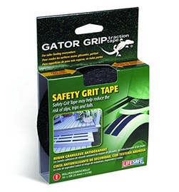 Gator Grip Black Anti-Slip Tape 1 inch x 15 ft Roll