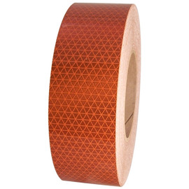 Orange Oralite Retroreflective Tape 5 year 2 inch x 50 yard Roll