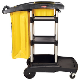 Rubbermaid High-Capacity Janitor Cart 22 inch x 50 inch x 44 inch