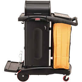 Rubbermaid High-Security Janitor Cart 22 inch x 48 inch x 54 inch