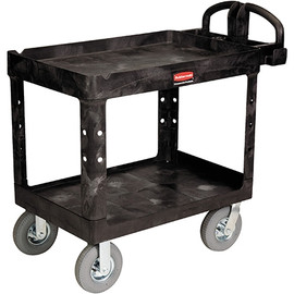 Rubbermaid Utility Cart with Pneumatic Wheels 44 inch x 25 inch x 37 inch
