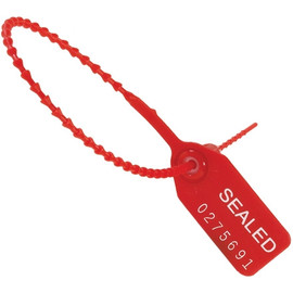 Pull-Tight Seals Red 9 inch (100 Per/Pack)