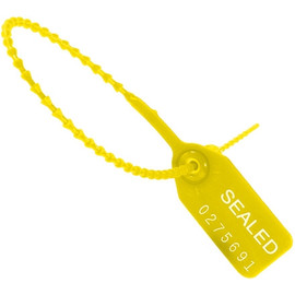 Pull-Tight Seals Yellow 12 inch (100 Per/Pack)