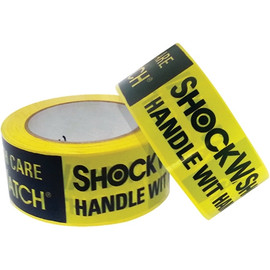 ShockWatch Alert Tape 2 inch x 100 yard Roll