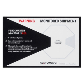ShockWatch Companion Labels (200 Per/Pack)