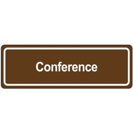 Door Sign 3 inch x 9 inch - Conference