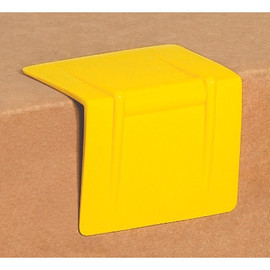 Plastic Strap Guards Yellow 2 1/2 inch x 2 inch (1000 Per/Pack)