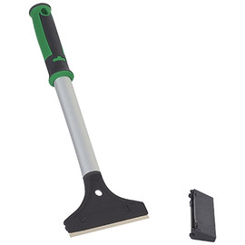 Hand Held 4 inch Floor Scraper with 12 inch Handle