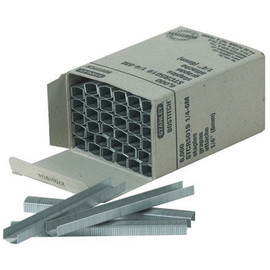 Deluxe 1/4 inch Staples (6000 Per/Pack)