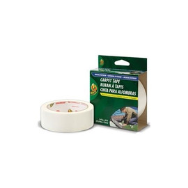 Duck brand Indoor/Outdoor Double-Sided Carpet Tape 1.41 inch x 42 ft Roll