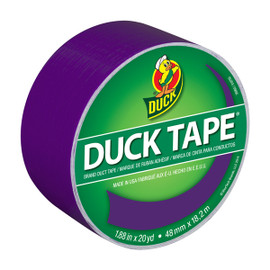 Violet / Purple Duck brand Duct Tape 1.88 inch x 20 yard Roll