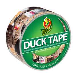 Kitty Kitty Duck brand Duct Tape 1.88 inch x 10 yard Roll