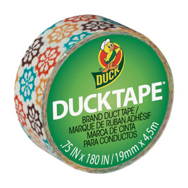 Ducklings Mini Duck Tape Brand Duct Tape Pinwheel 0.75 inch x 15 ft Roll