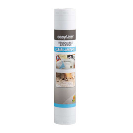 Duck Brand 1115496 Peel N Stick Laminate Adhesive Shelf Liner 12 inch x 36 ft Clear