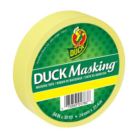 Yellow Duck Masking Color Masking Tape 0.94 inch x 30 yard Roll