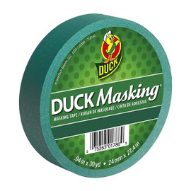 Green Duck Masking Color Masking Tape 0.94 inch x 30 yard Roll