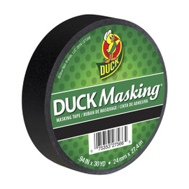 Black Duck Masking Color Masking Tape 0.94 inch x 30 yard Roll