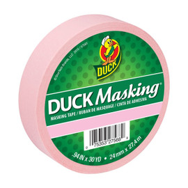 Pink Duck Masking Color Masking Tape 0.94 inch x 30 yard Roll