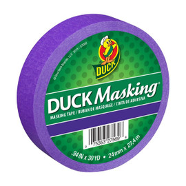 Purple Duck Masking Color Masking Tape 0.94 inch x 30 yard Roll