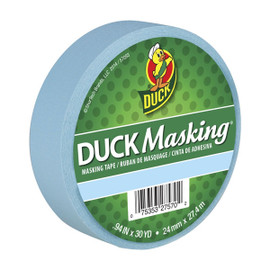 Light Blue Duck Masking Color Masking Tape 0.94 inch x 30 yard Roll
