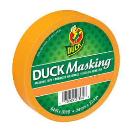 Orange Duck Masking Color Masking Tape 0.94 inch x 30 yard Roll
