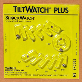TiltWatch Plus with Label (50 Per/Pack)