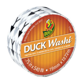 Arrows Duck Washi Craft Rolling Tape 0.75 inch x 15 yard Roll