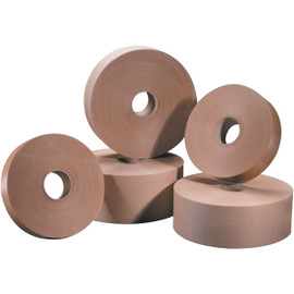 Tape Logic #5000 Non Reinforced Water Activated Tape 1 inch x 500 ft Roll (30 Roll/Pack)