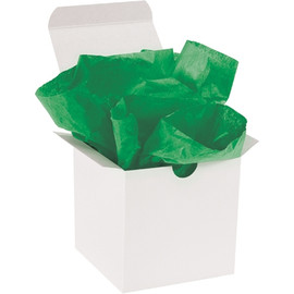 Tissue Paper Kelly Green 20 inch x 30 inch (480 Per/Pack)