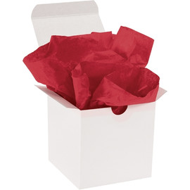 Tissue Paper Scarlet 20 inch x 30 inch (480 Per/Pack)