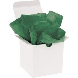 Tissue Paper Holiday Green 20 inch x 30 inch (480 Per/Pack)