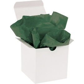 Tissue Paper Evergreen 20 inch x 30 inch (480 Per/Pack)