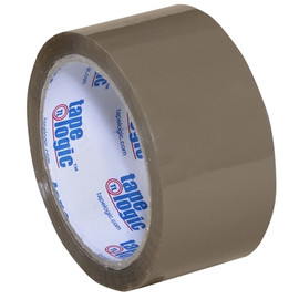 Tape Logic #170 Industrial Carton Sealing Tape Tan 2 inch x 55 yard (36 Roll/Pack)