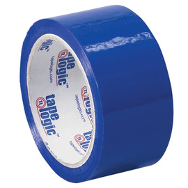 Tape Logic Blue Carton Sealing Tape 2 inch x 55 yard (36 Roll/Pack)
